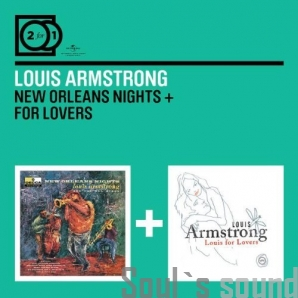 Louis Armstrong New Orleans Nights / For Lovers 2 CD