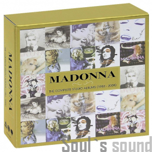 Madonna The Complete Studio Albums (1983-2008). Limited Edition 11 CD
