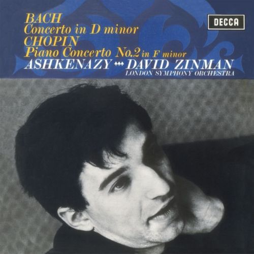 Vladimir Ashkenazy, London Symphony Orchestra, David Zinman - Chopin: Piano Concerto No.2; Bach: Keyboard Concerto in D Minor LP