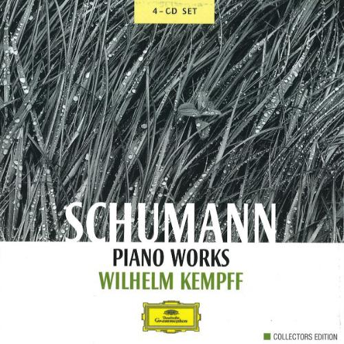Schumann Wilhelm Kempff ‎– Piano Works 4 CD
