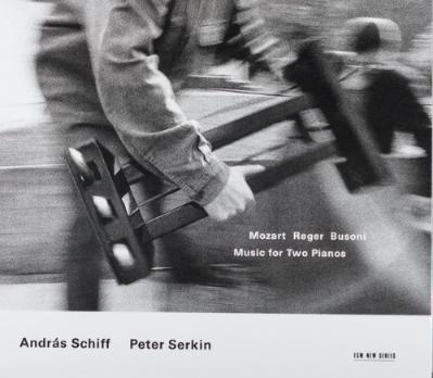 András Schiff / Peter Serkin - Mozart / Reger / Busoni ‎– Music For Two Pianos 2 CD