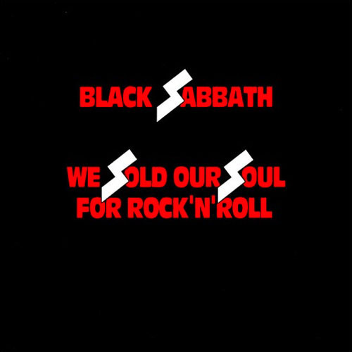 Black Sabbath ‎– We Sold Our Soul For Rock 'N' Roll 2 CD Deluxe Edition