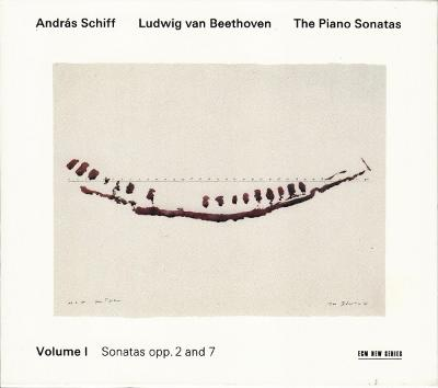 Ludwig van Beethoven - András Schiff ‎– The Piano Sonatas, Volume I - Sonatas Opp. 2 And 7 2 CD