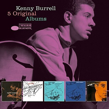 Kenny Burrell ‎– 5 Original Albums 5 CD