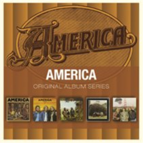 AMERICA - ORIGINAL ALBUM SERIES 5 CD