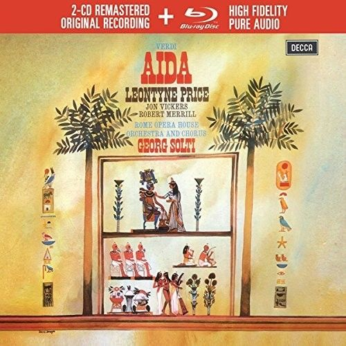 Sir Georg Solti - Verdi: Aida 2CD+Blu-Ray