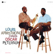 LOUIS ARMSTRONG - MEETS OSCAR PETERSON LP