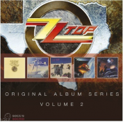 ZZ TOP ORIGINAL ALBUM SERIES VOL. 2 5 CD