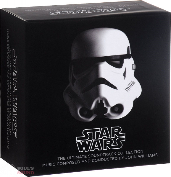 STAR WARS: THE ULTIMATE SOUNDTRACK COLLECTION 10 CD + DVD