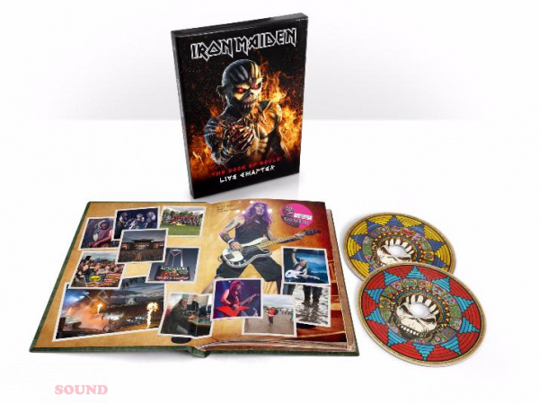 Iron Maiden THE BOOK OF SOULS LIVE 2 CD Deluxe