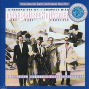 DAVE BRUBECK - THE GREAT CONCERTS...AMSTERDAM, CARNEGIE HALL, COPENHAGEN CD
