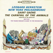 Saint-Saëns Prokofiev Leonard Bernstein Peter And The Wolf. The Carnival Of The Animals. etc. CD Japan