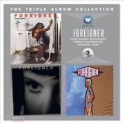 FOREIGNER - THE TRIPLE ALBUM COLLECTION: HEAD GAMES / INSIDE INFORMATION / UNUSUAL HEAT 3 CD