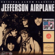 JEFFERSON AIRPLANE - ORIGINAL ALBUM CLASSICS (VOLUNTEERS / BARK / LONG JOHN SILVER) 3CD