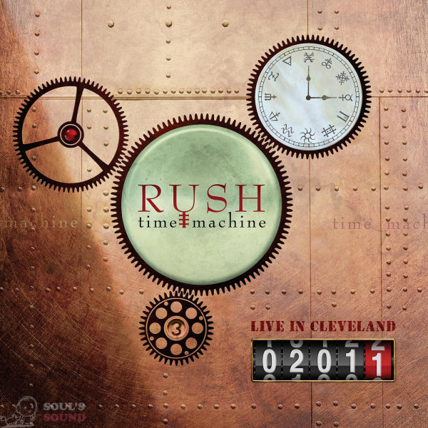 RUSH Time Machine 2011: Live in Cleveland 4 LP