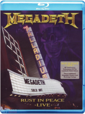 Megadeth Rust In Peace - Live Blu-Ray