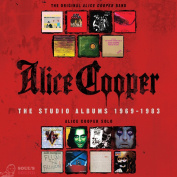 Alice Cooper ‎The Studio Albums 1969-1983 15 CD