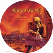 MEGADETH Peace Sells...But Who's Buying?	LP Picture Disc