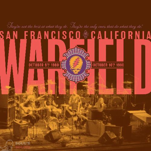 Grateful Dead The Warfield, San Francisco, CA 10/9/80 & 10/10/80 2 CD RSD2019 Limited Digipack