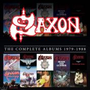 Saxon ‎The Complete Albums 1979-1988 10 CD