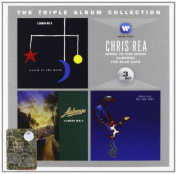 CHRIS REA - THE TRIPLE ALBUM COLLECTION: WIRED TO THE MOON / AUBERGE / THE BLUE CAFE 3CD
