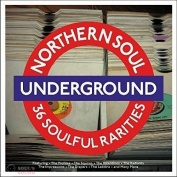 VARIOUS ARTISTS NORTHERN SOUL UNDERGROUND 2 LP Red