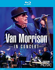 Van Morrison In Concert (Live at the BBC Radio Theatre London) Blu-Ray