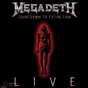 Megadeth Countdown To Extinction: Live CD