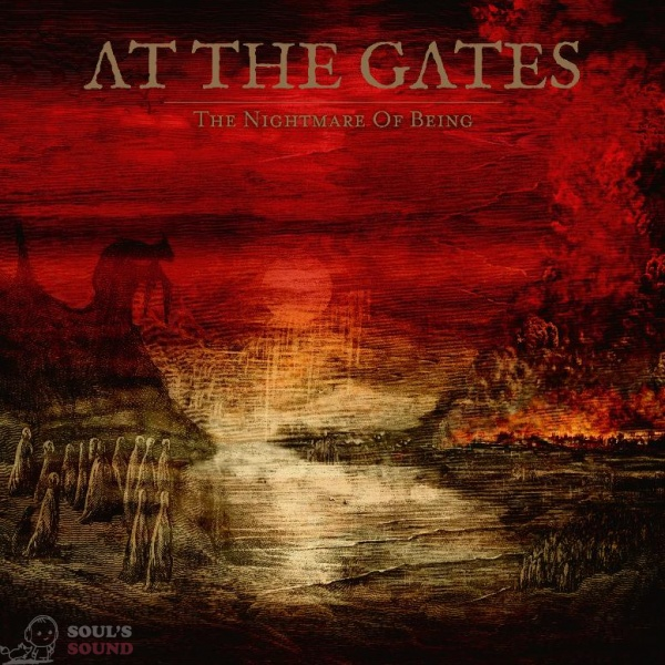 At The Gates The Nightmare Of Being LP + poster