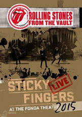 The Rolling Stones Sticky Fingers Live At The Fonda Theatre DVD