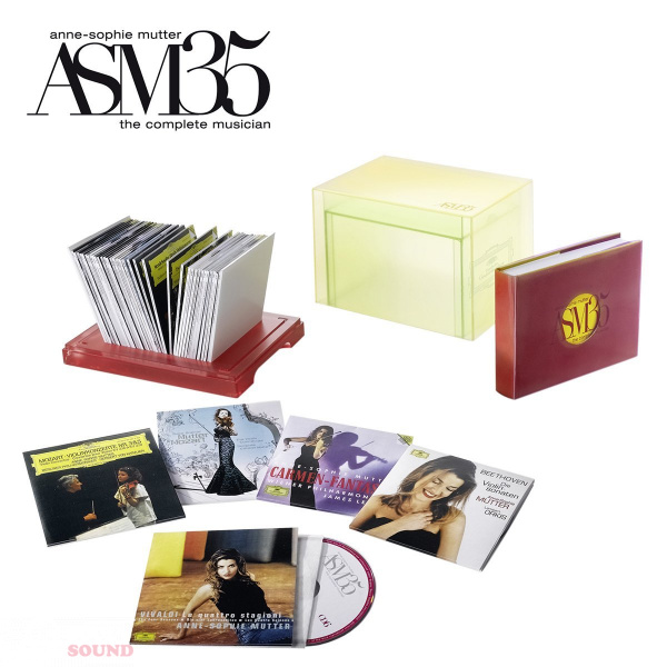 Anne-Sophie Mutter 35 Years On Stage (Box) 40 CD