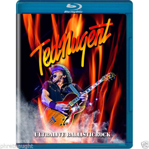 TED NUGENT - ULTRALIVE BALLLISTICROCK Blu-Ray