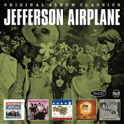 JEFFERSON AIRPLANE - ORIGINAL ALBUM CLASSICS (TAKES OFF / SURREALISTIC PILLOW / AFTER BATHING AT BAXTERS / CROWN OF CREATION / BLESS ITS POINTED LITTLE HEAD) 5CD