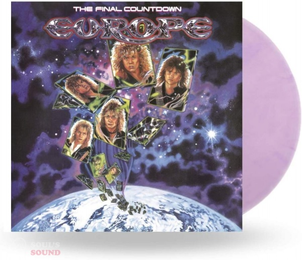 Europe The Final Countdown LP National Album Day 2020 / Limited Red & Purple