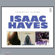 Isaac Hayes Hot Buttered Soul / Black Moses / Shaft (Box) 4 CD