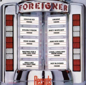 Foreigner Records LP Red
