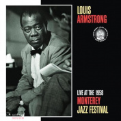 Louis Armstrong Live At The 1958 Monterey Jazz Festival CD