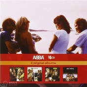 ABBA Ring Ring / Waterloo / ABBA / Arrival 4 CD