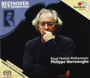 Beethoven, Collegium Vocale Gent, Accademia Chigiana Siena, Royal Flemish Philharmonic, Philippe Herreweghe ‎– The 9 Symphonies 5 SACD