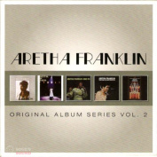 Aretha Franklin ‎– Original Album Series Vol. 2 5 CD