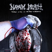 NAPALM DEATH Throes of Joy in the Jaws of Defeatism LP + poster
