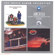 AMERICA - THE TRIPLE ALBUM COLLECTION: HISTORY: AMERICA'S GREATEST HITS / HIDEAWAY / HARBOR 3CD