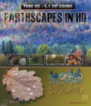 MOVIE - EARTHSCAPES IN HD: FALL IN NEW ENGLAND Blu-Ray