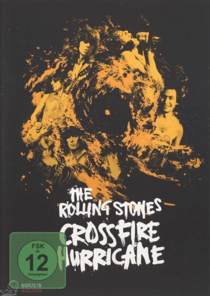 The Rolling Stones ‎– Crossfire Hurricane DVD
