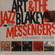 Art Blakey & The Jazz Messengers ‎– 5 Original Albums 5 CD
