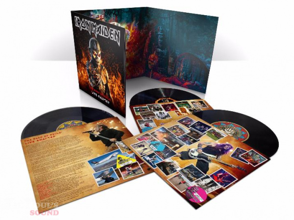 Iron Maiden THE BOOK OF SOULS LIVE 3 LP