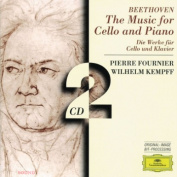 Beethoven Pierre Fournier Wilhelm Kempff ‎– The Music For Cello And Piano 2 CD