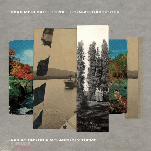 Brad Mehldau Variations on a Melancholy Theme CD