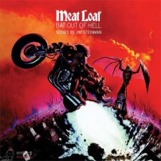 Meat Loaf Bat Out Of Hell LP Clear