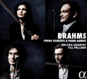 Brahms Belcea Quartet String Quartets & Piano Quintet 2 CD